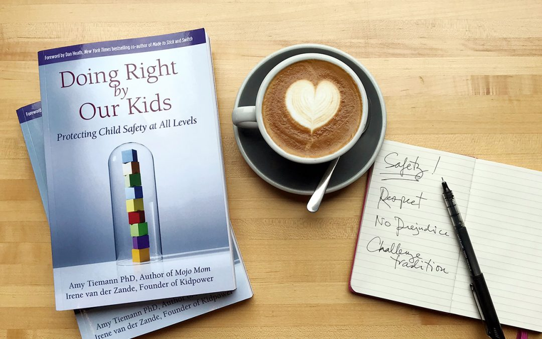 """Doing Right by Our Kids"" book trailer shows our ""Protecting Child Safety at All Levels"" approach"