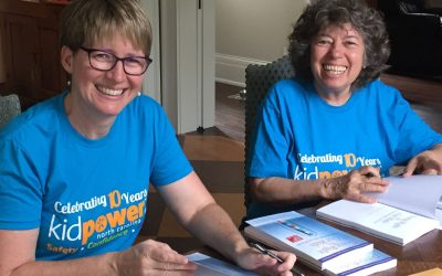 """What's next:  Our new book """"Doing Right by Our Kids"""" by Amy Tiemann PhD, and Irene van der Zande, Founder of Kidpower"""